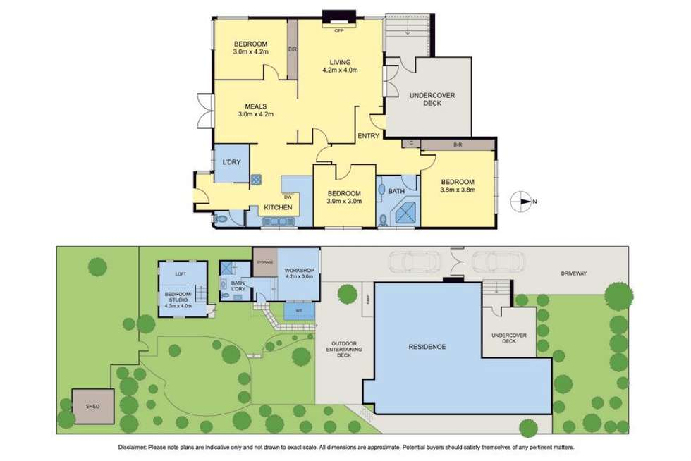 Floorplan of Homely house listing, 1 Booth Street, Coburg VIC 3058