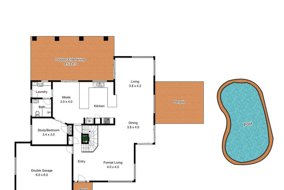 Floorplan of Homely house listing, 4 Mounteford Place, Albany Creek QLD 4035