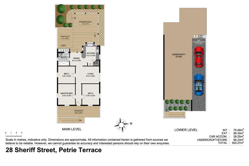 Floorplan of Homely house listing, 28 Sheriff Street, Petrie Terrace QLD 4000