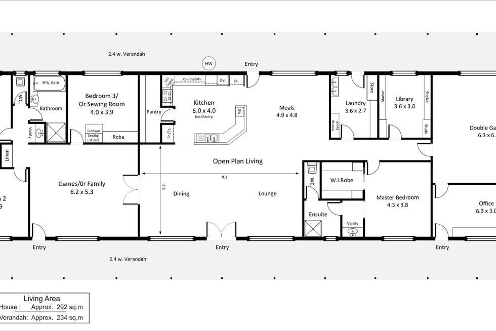 Floorplan of Homely house listing, 67 Farley Road, Kingston On Murray SA 5331