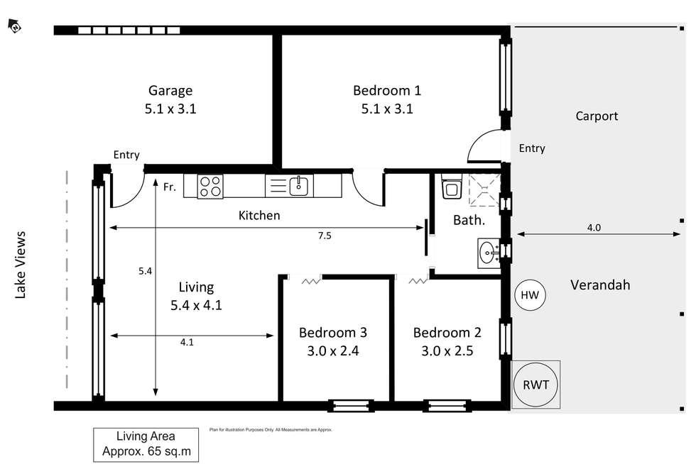 Floorplan of Homely house listing, 26 Queen Elizabeth Drive, Barmera SA 5345