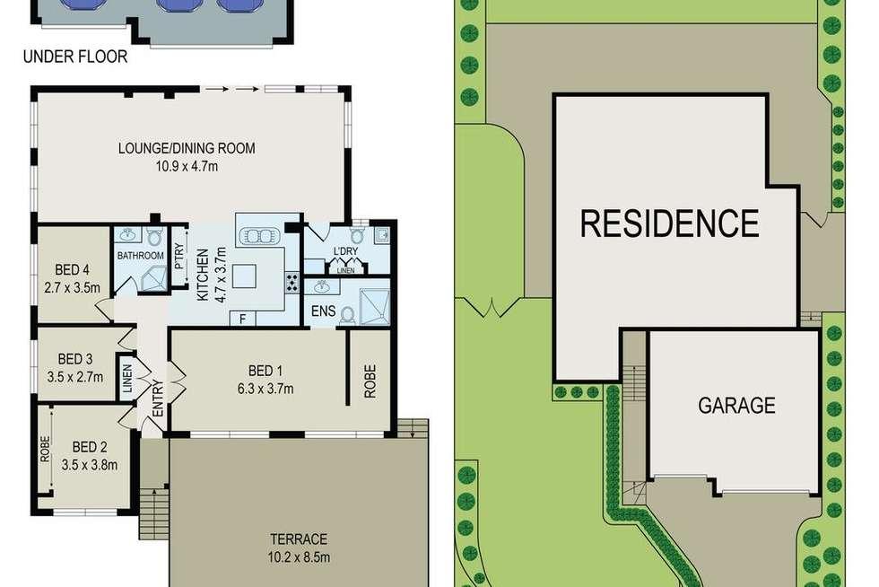 Floorplan of Homely house listing, 23 Vanessa Avenue, Baulkham Hills NSW 2153
