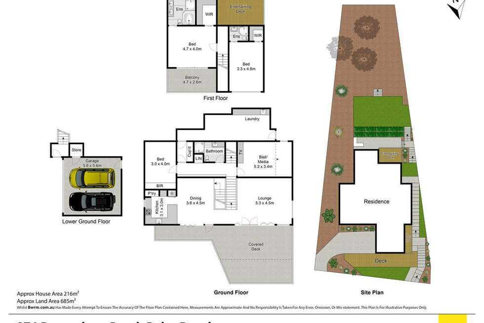Floorplan of Homely house listing, 974 Barrenjoey Road, Palm Beach NSW 2108
