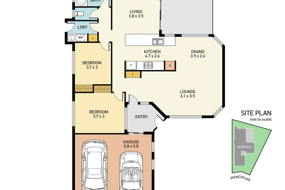 Floorplan of Homely house listing, 29 Spencer Avenue, Deception Bay QLD 4508