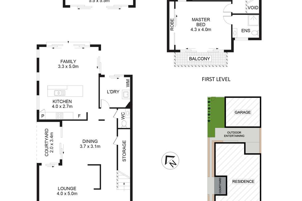 Floorplan of Homely house listing, 8 Malton Street, Stanhope Gardens NSW 2768