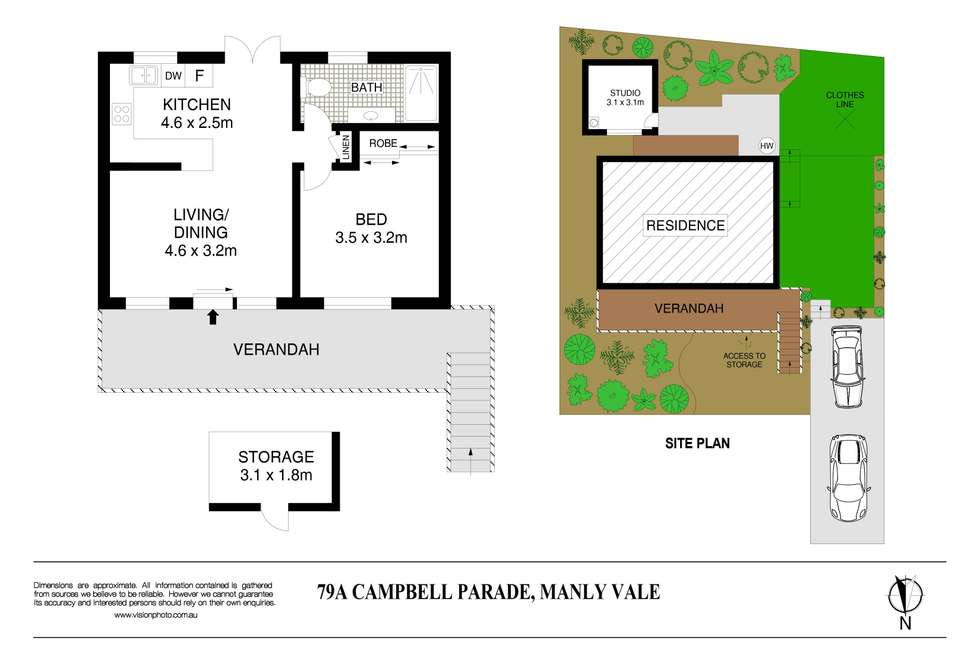 Floorplan of Homely house listing, 79a Campbell Parade, Manly Vale NSW 2093