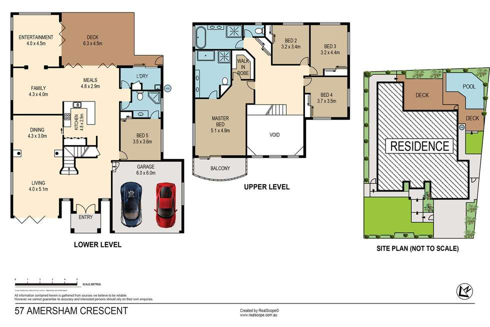 Floorplan of Homely house listing, 57 Amersham Crescent, Carindale QLD 4152