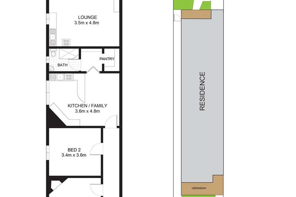 Floorplan of Homely house listing, 95 Holt Avenue, Mosman NSW 2088