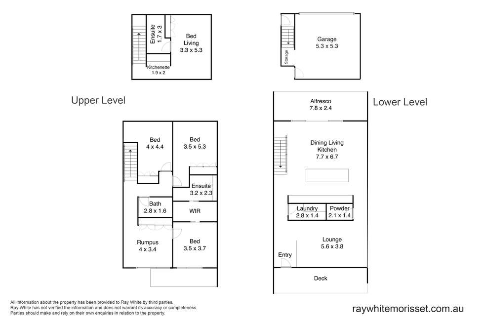 Floorplan of Homely townhouse listing, 70 Trinity Point Drive, Morisset Park NSW 2264