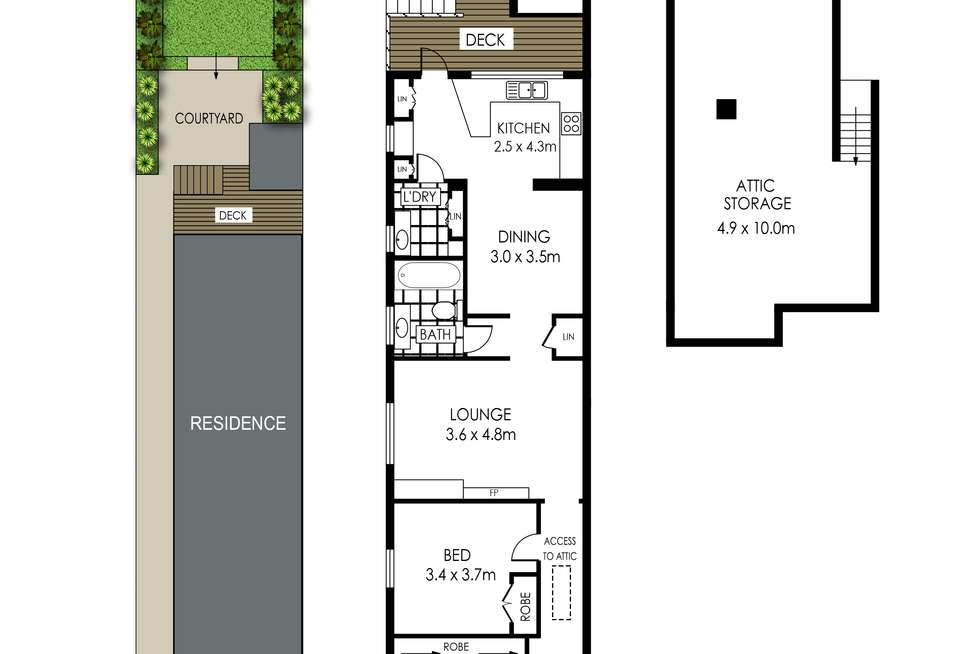 Floorplan of Homely house listing, 36 Spencer Road, Mosman NSW 2088