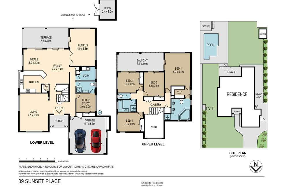 Floorplan of Homely house listing, 39 Sunset Place, Carindale QLD 4152