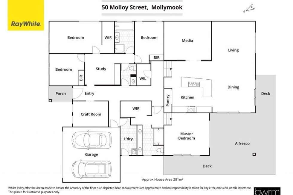 Floorplan of Homely house listing, 50 Molloy Street, Mollymook NSW 2539