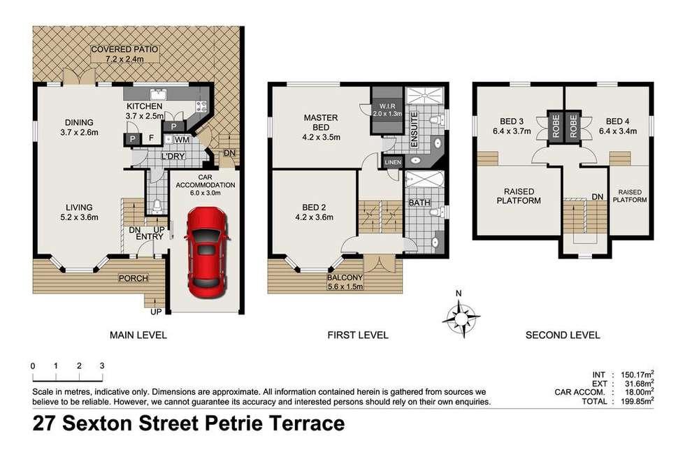 Floorplan of Homely house listing, 27 Sexton Street, Petrie Terrace QLD 4000