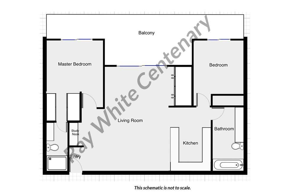 Floorplan of Homely unit listing, 29/14 Montrose Street, Taringa QLD 4068
