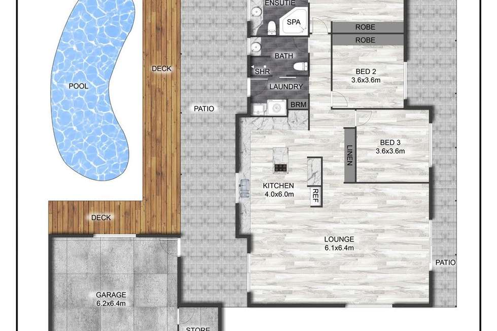 Floorplan of Homely house listing, 16 Chatsworth Crescent, Annandale QLD 4814