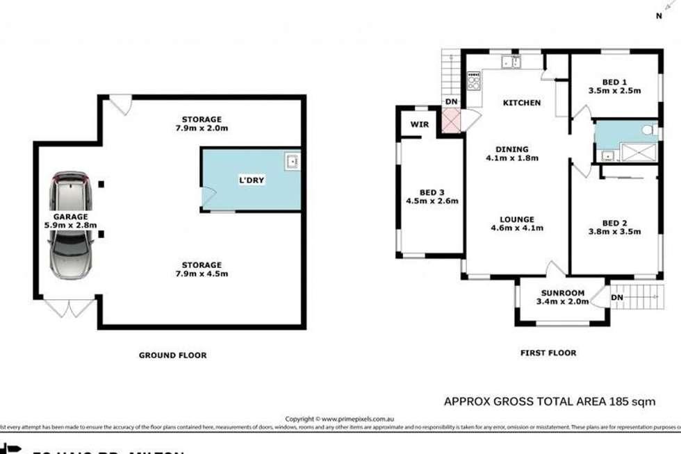 Floorplan of Homely house listing, 52 Haig Road, Milton QLD 4064