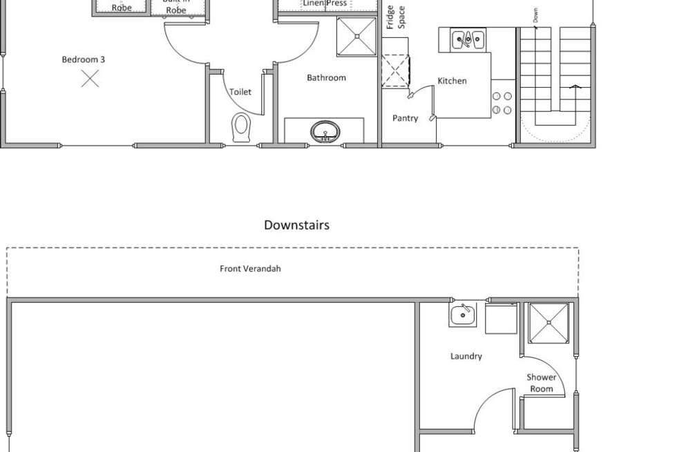 Floorplan of Homely house listing, 45 Corny Point Road, Corny Point SA 5575