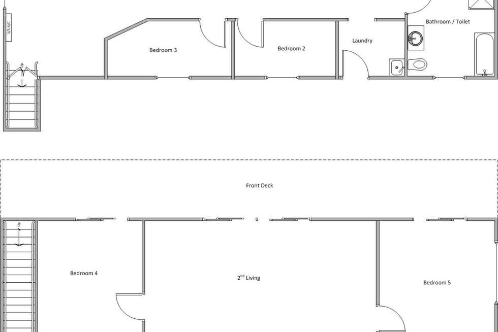 Floorplan of Homely house listing, 9 Whiting Drive, Edithburgh SA 5583