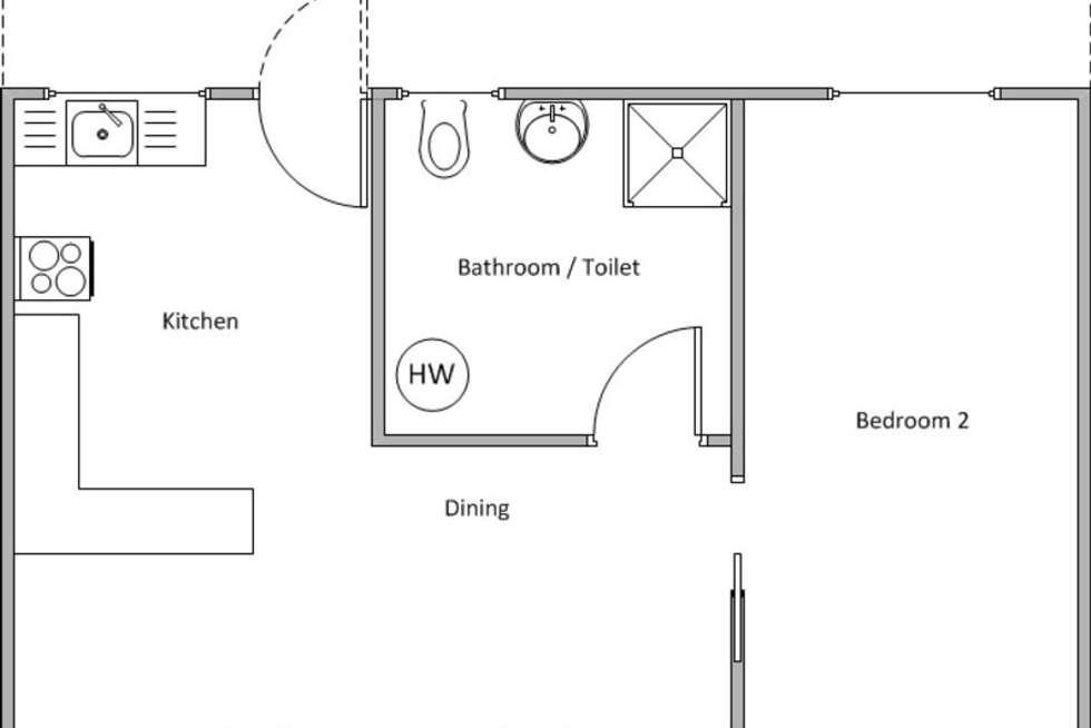 Floorplan of Homely unit listing, 2 (Unit 7) Henry Street, Edithburgh SA 5583