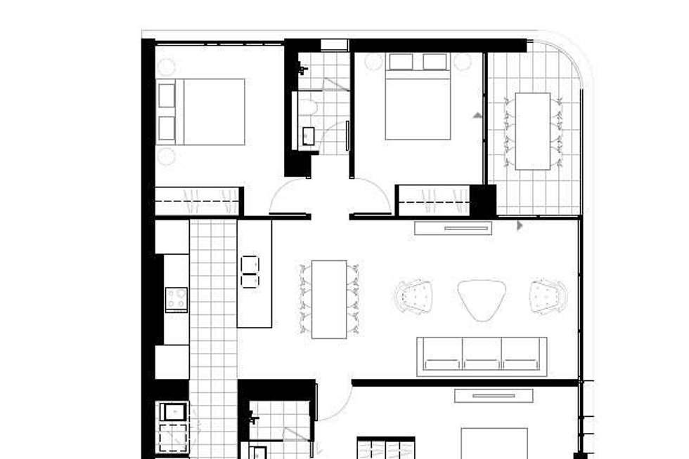 Floorplan of Homely apartment listing, C803/18-22 O''Dea Avenue, Waterloo NSW 2017