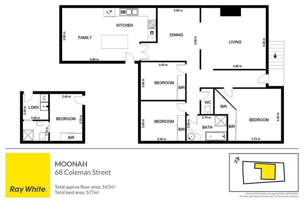 Floorplan of Homely house listing, 68 Coleman Street, Moonah TAS 7009