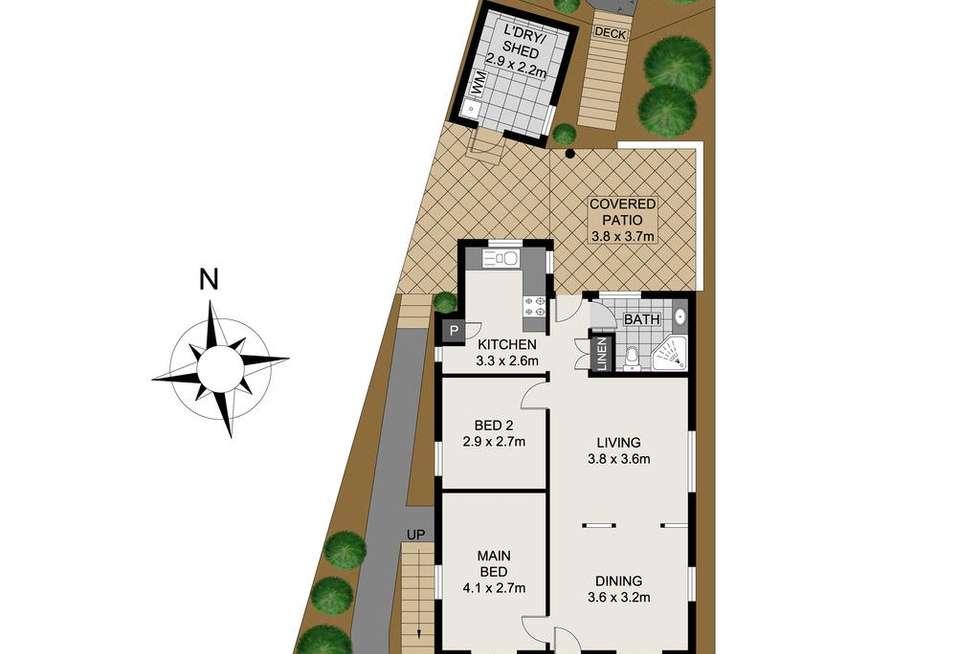 Floorplan of Homely house listing, 47 Mountjoy Street, Petrie Terrace QLD 4000