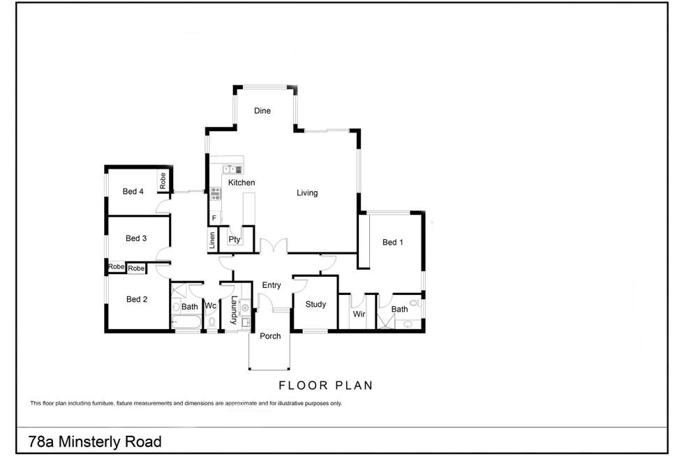 Floorplan of Homely house listing, 78A Minsterly Road, Denmark WA 6333