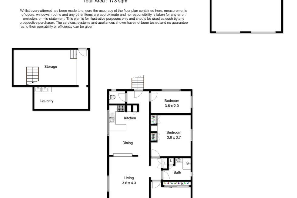 Floorplan of Homely house listing, 84 Daisy Street, Newmarket QLD 4051