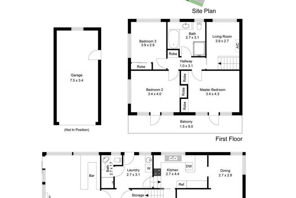 Floorplan of Homely house listing, 659 Nepean Highway, Frankston South VIC 3199