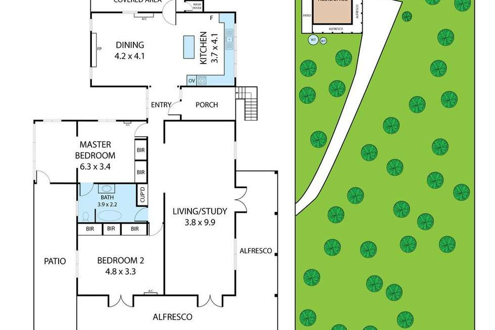 Floorplan of Homely house listing, 172 Outlook Drive, Esk QLD 4312