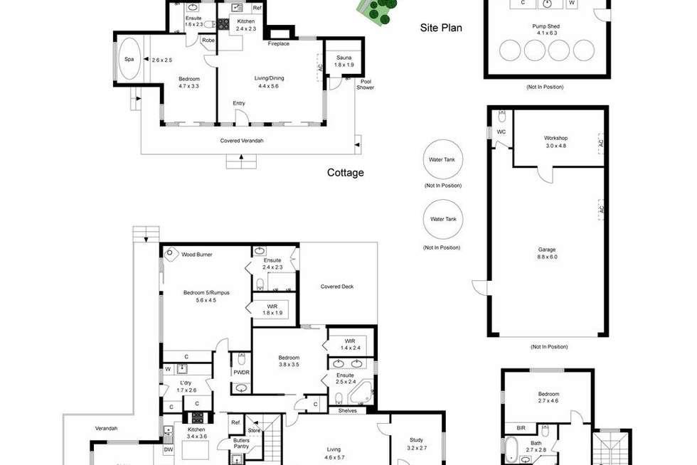 Floorplan of Homely house listing, 26-28 Nirvana Close, Langwarrin South VIC 3911