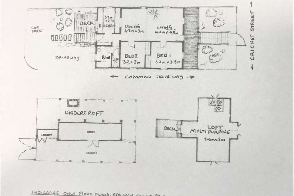 Floorplan of Homely house listing, 69 Cricket Street, Petrie Terrace QLD 4000