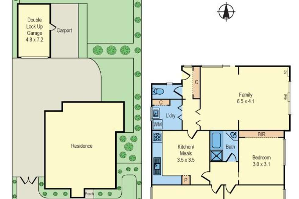 Floorplan of Homely house listing, 49 Apex Avenue, Hampton East VIC 3188