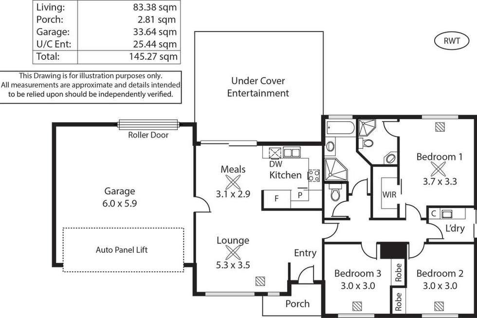 Floorplan of Homely house listing, 11 Watson Street, Beverley SA 5009