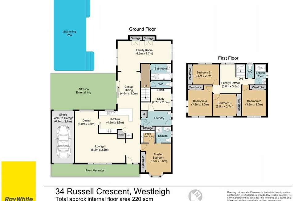 Floorplan of Homely house listing, 34 Russell Crescent, Westleigh NSW 2120