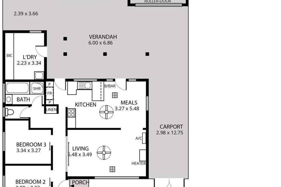 Floorplan of Homely house listing, 27 Essex Street, Woodville Gardens SA 5012