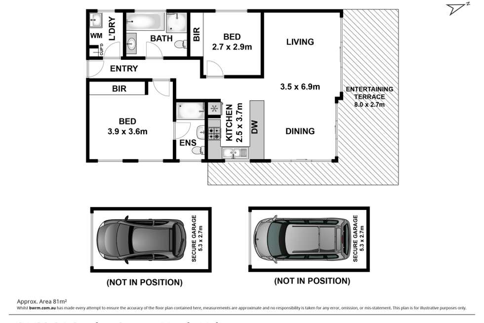 Floorplan of Homely apartment listing, 21/30-34 Gordon Street, Manly Vale NSW 2093