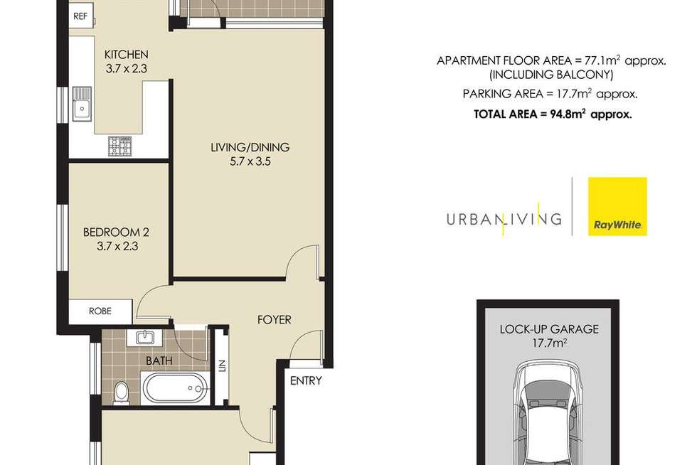 Floorplan of Homely apartment listing, 7/480 MILITARY Road, Mosman NSW 2088
