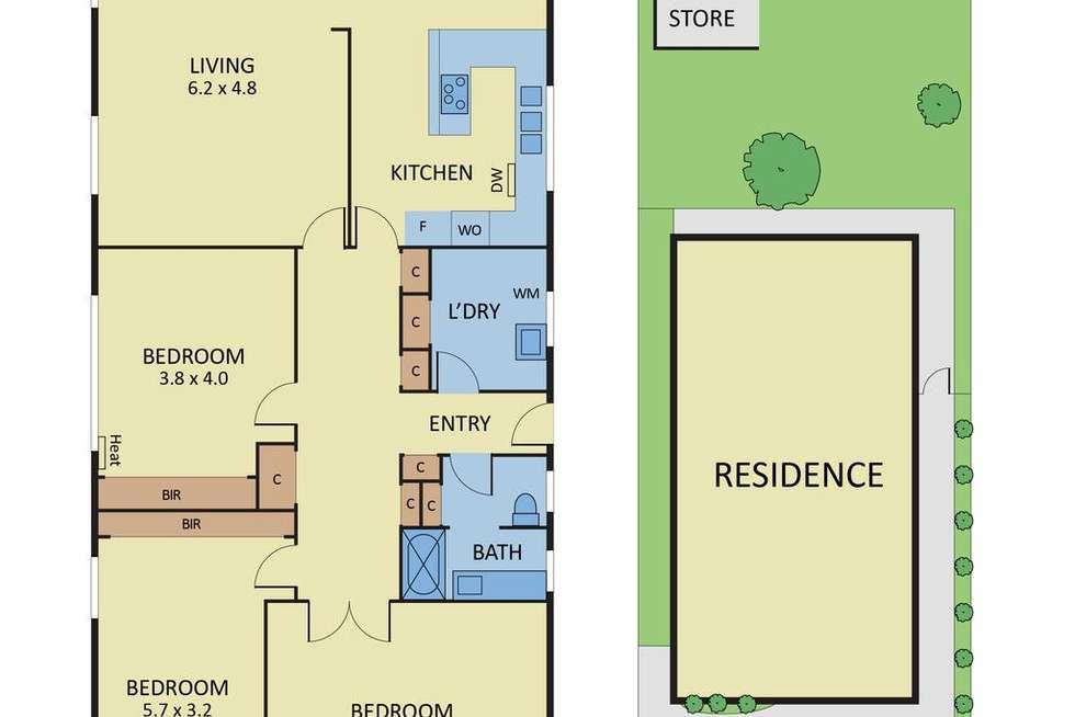 Floorplan of Homely house listing, 22 Macgowan Avenue, Glen Huntly VIC 3163