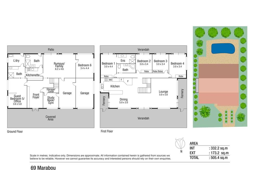 Floorplan of Homely house listing, 69 Marabou Drive, Annandale QLD 4814