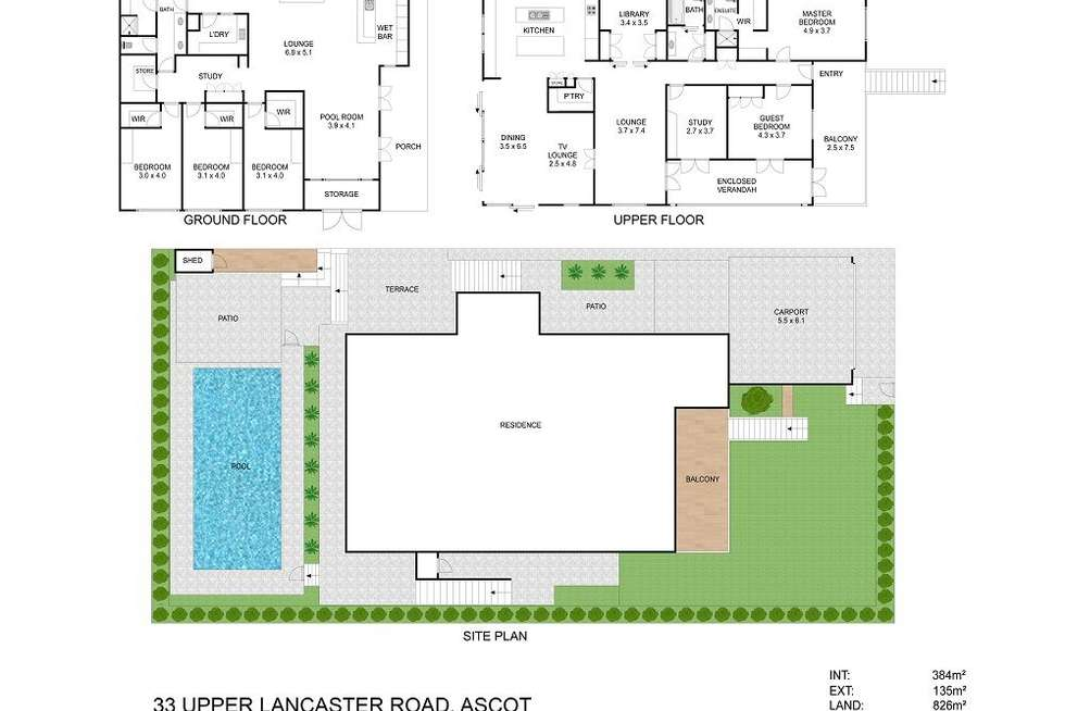 Floorplan of Homely house listing, 33 Upper Lancaster Road, Ascot QLD 4007
