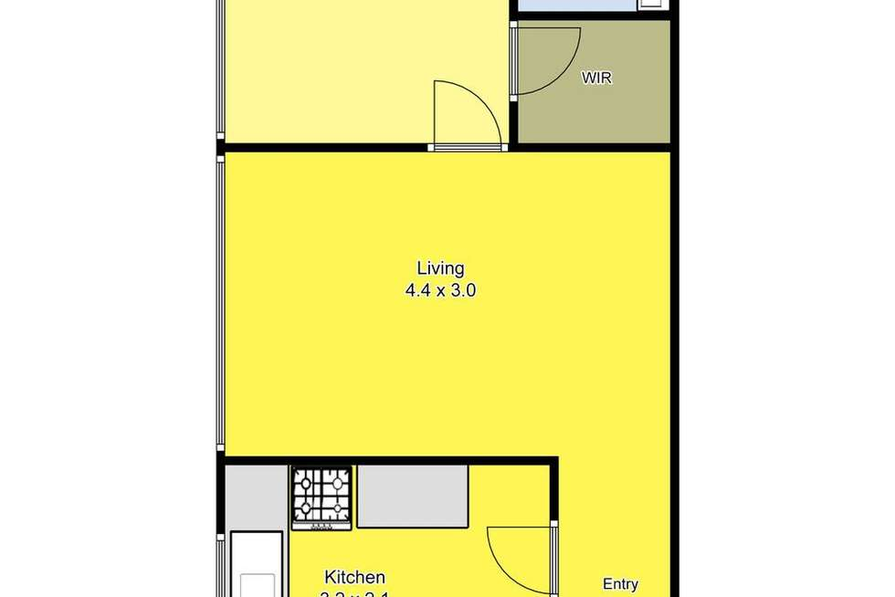 Floorplan of Homely unit listing, 15/247 Heidelberg Road, Northcote VIC 3070