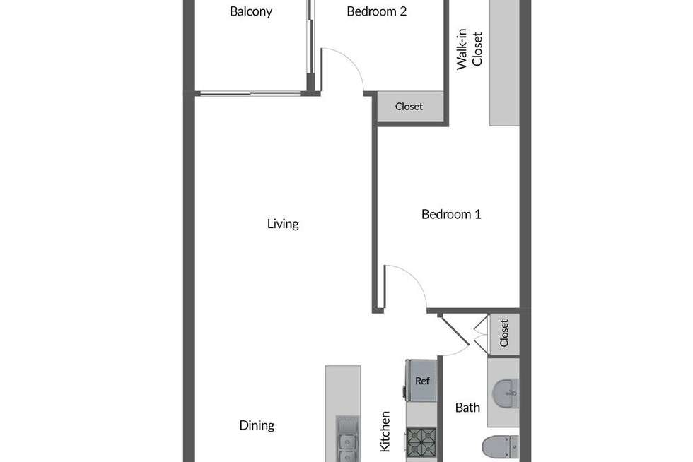 Floorplan of Homely apartment listing, 305/36 Hurtle Square, Adelaide SA 5000