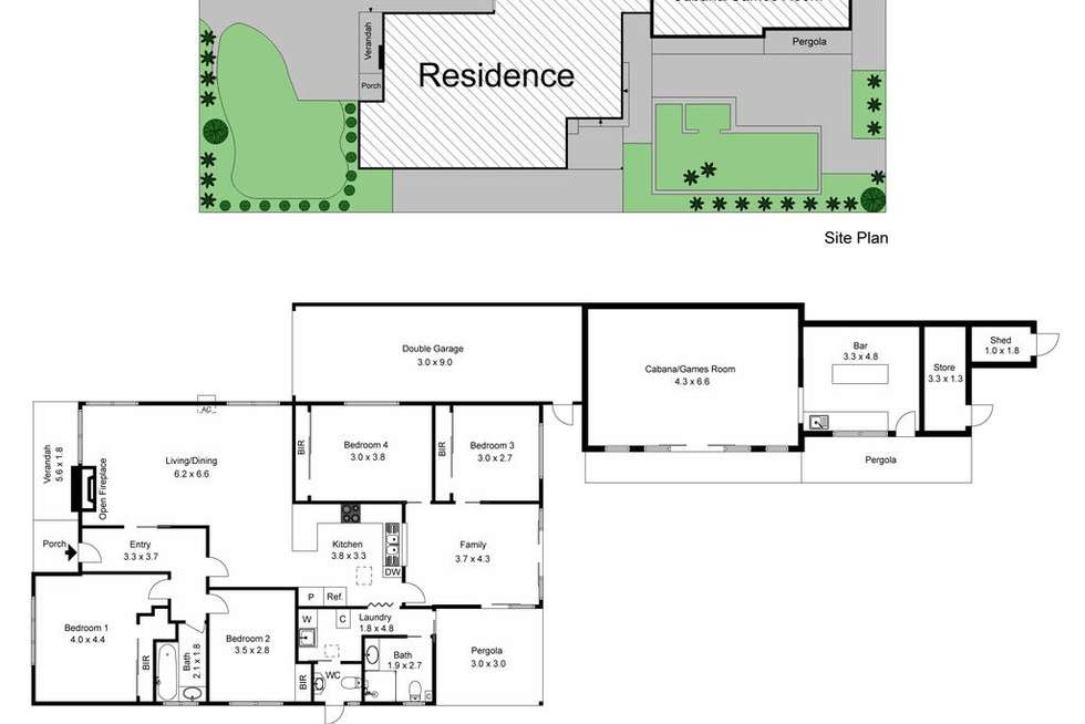 Floorplan of Homely house listing, 31 Joyce Avenue, Oakleigh South VIC 3167