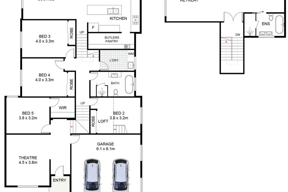 Floorplan of Homely house listing, 20 Bonville Parkway, Shell Cove NSW 2529