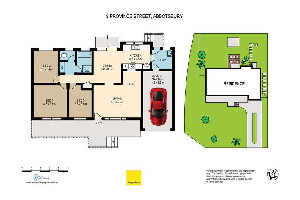 Floorplan of Homely house listing, 9 Province Street, Abbotsbury NSW 2176