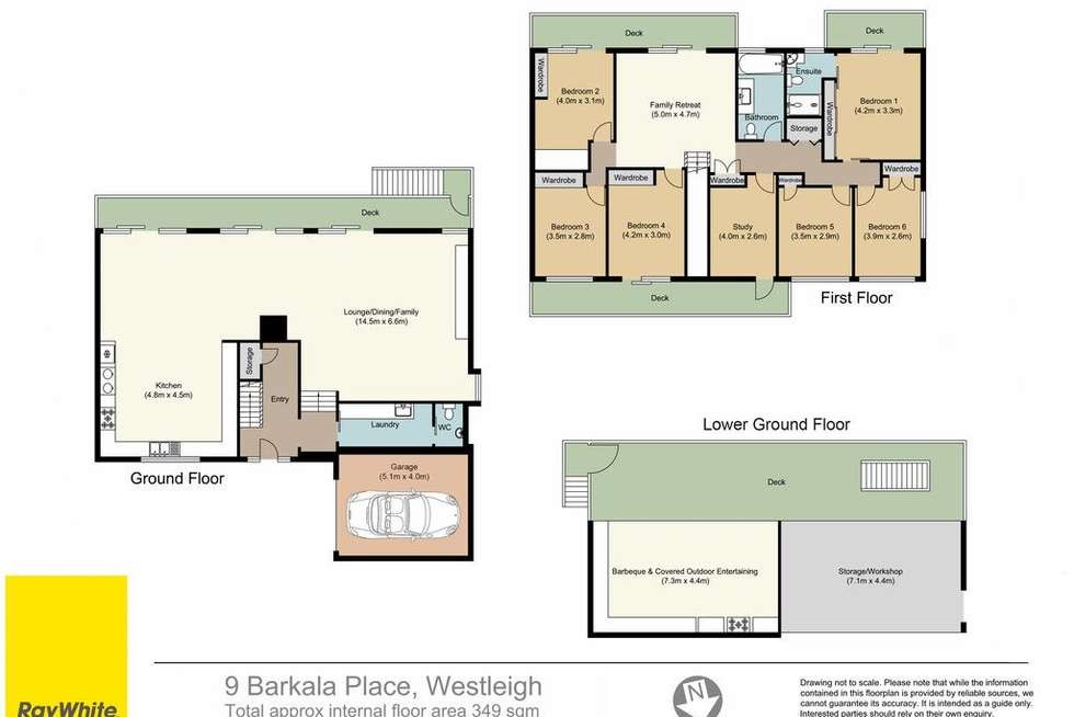 Floorplan of Homely house listing, 9 Barkala Place, Westleigh NSW 2120