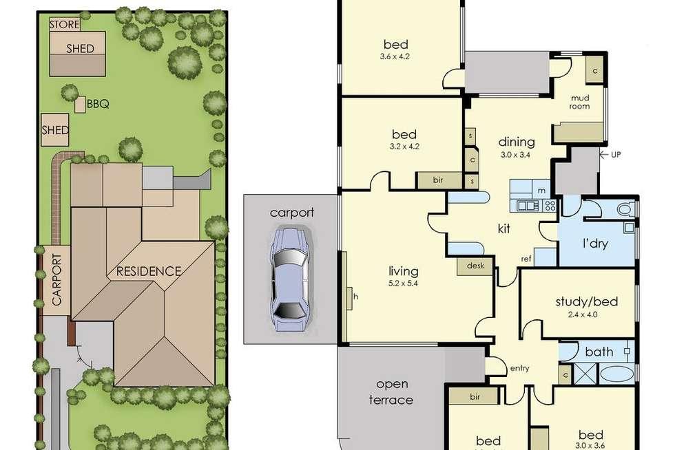 Floorplan of Homely house listing, 9 Bevis Street, Mulgrave VIC 3170