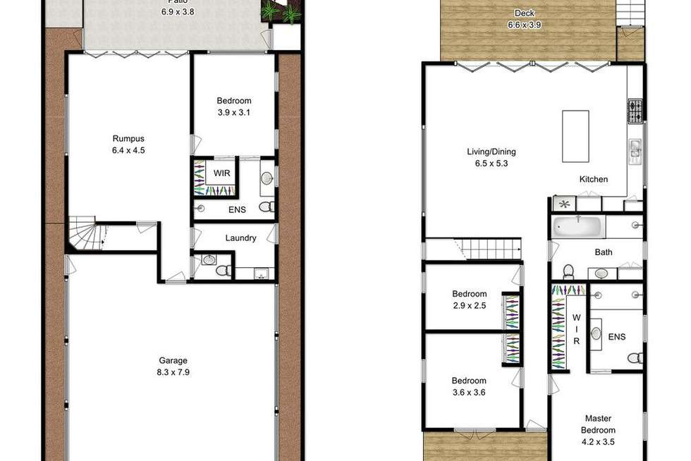 Floorplan of Homely house listing, 86 Villiers Street, New Farm QLD 4005