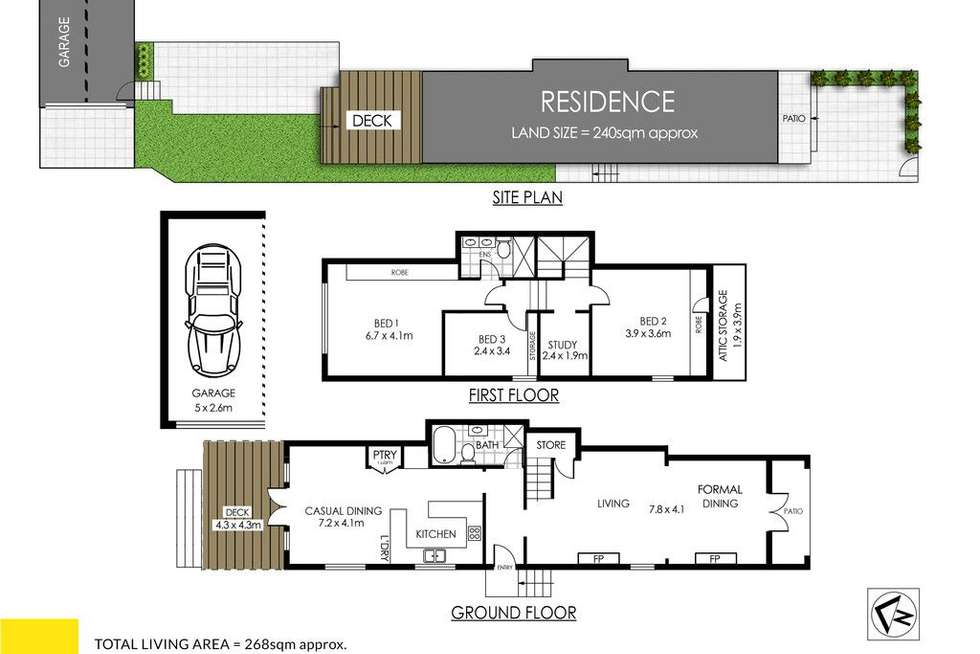 Floorplan of Homely house listing, 84 Avenue Road, Mosman NSW 2088